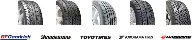 New tyres for sale